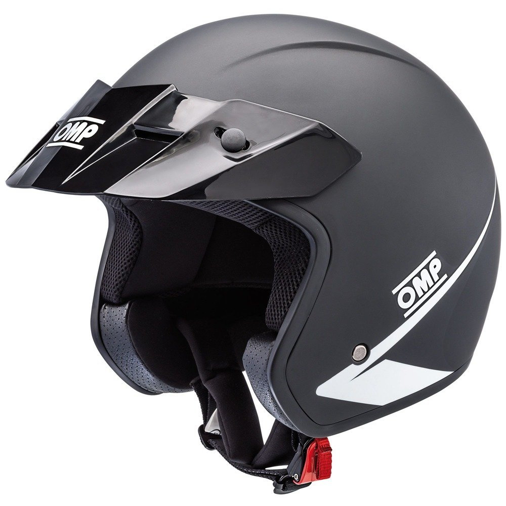 ECE Approved Open Face Helmet 2017 OMP Racing STAR size M
