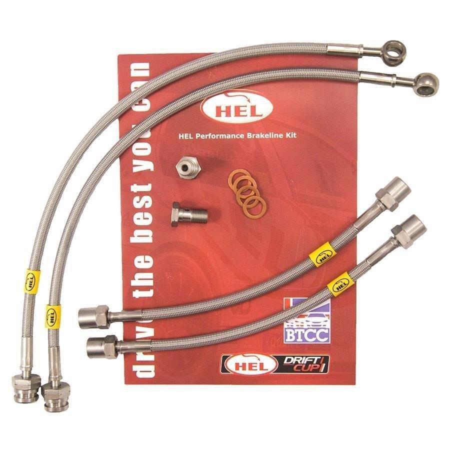 FULL KIT HEL Performance Brake Lines Hoses For Volvo 850 2.3 Turbo 1993-1997