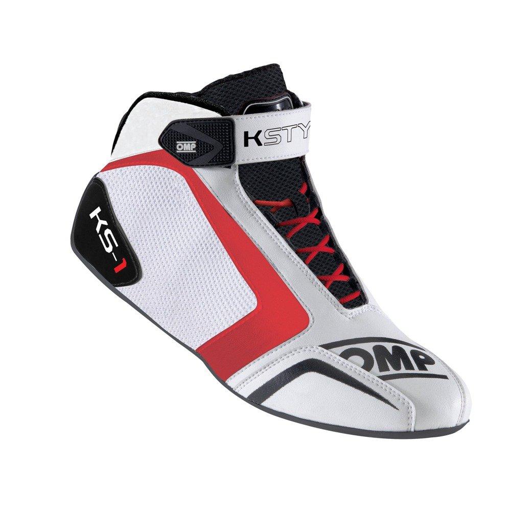 black red OMP KS-2/Shoes Talla 45 white
