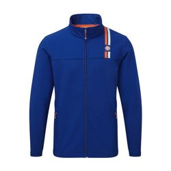 GULF Racing Mens Teamline Softshell Jacket