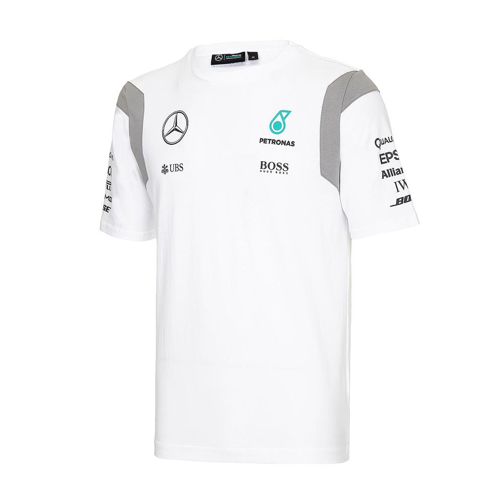 2234b92b9 Mercedes AMG Petronas F1 Team Mens Teamline T-shirt Click to zoom ...