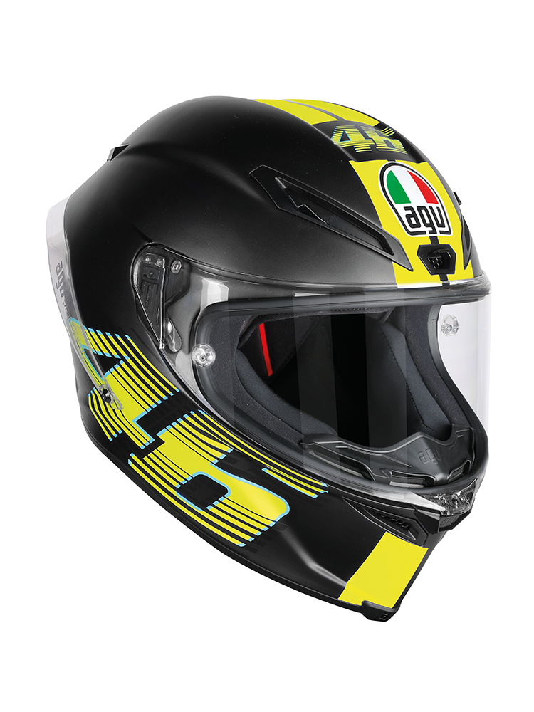 motorcycle helmet agv corsa r valentino rossi vr46 v46. Black Bedroom Furniture Sets. Home Design Ideas