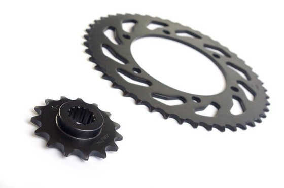 Chain and Sprockets set DID50VX 108 SUNF524-18 SUNR1-5698-43 (50VX-SPRINT 955RS 99-03)