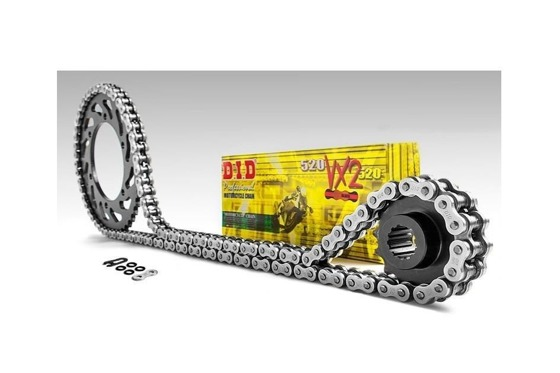 Chain and Sprockets set DID50VX 110 JTF517.17 JTR502.45 (50VX-JT-ZZ-R1100 00-01 (ZX1100)