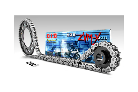 Chain and Sprockets set DID50ZVMX 106 SUNF524-18 SUNR1-5698-42 (50ZVMX-SPEED TRIPLE 955 02-03)