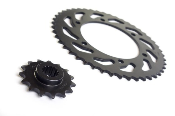 Chain and Sprockets set DID50ZVMX 114 SUNF524-18 SUNR1-5363-45 (50ZVMX-TROPHY 1200 91-92)