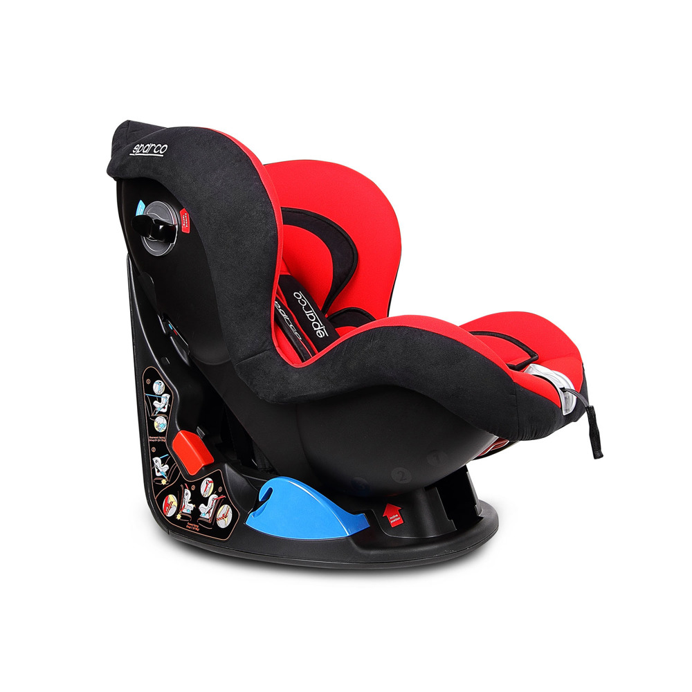 sparco kindersitz f5000k 0 18 kg motorsport. Black Bedroom Furniture Sets. Home Design Ideas